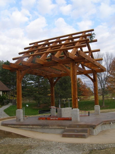 Outdoor Amphitheater Pavilion C 2011 The Sweetgrass